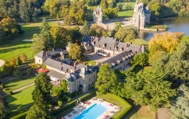Golf stay at the Relais et Châteaux 5* Hotel of the Domaine de la Bretesche