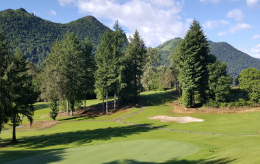 Golfplatz Golf Club de Lourdes Pyrénées