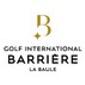 Logo Golf International Barrière La Baule