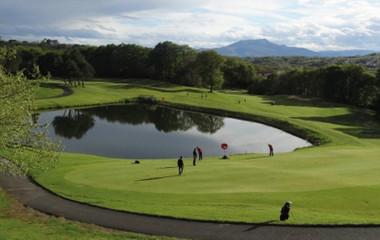 Golf course Makila Golf Club Bayonne Bassussarry