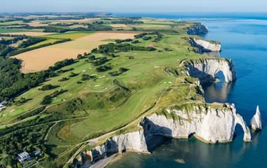 Parcours du golf Golf d'Etretat