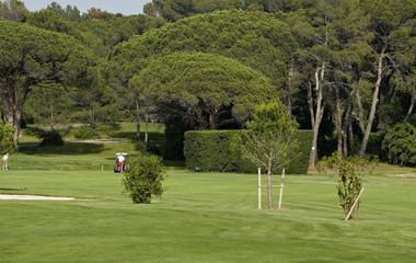 Parcours du golf Golf de Valescure