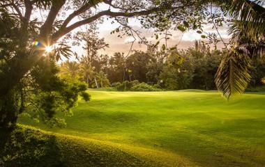 Golf course Golf Bourbon La Réunion