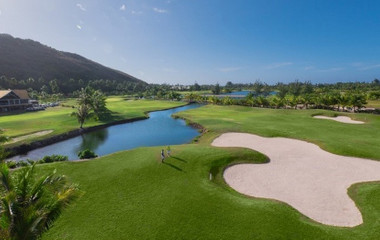 Parcours du golf UGOLF Moorea Green Pearl