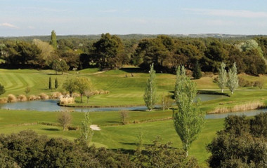 Golf course Golf Ouest Provence Miramas